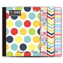 96 Units of Eighty count Full art notebook - Notebooks