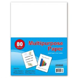 96 Units of Eighty count multi purpose paper - Paper
