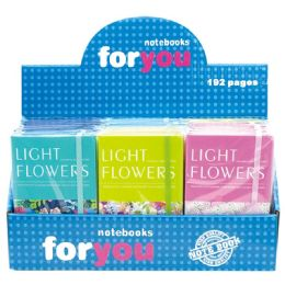 96 Units of Notebook Flower - Notebooks