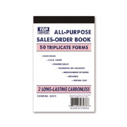 144 Units of Order book - Sales Order Book