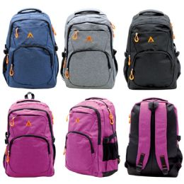 "12 Units of Backpack Assorted Colors - Backpacks 18"" or Larger"
