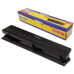 24 Units of Three Holes Paper Punch - Hole Punchers