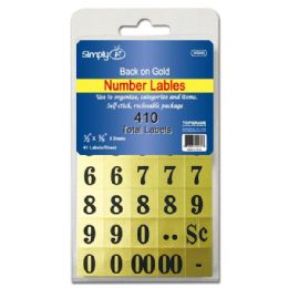 144 Units of Number labels - Labels ,Cards and Index Cards