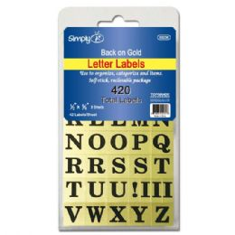 144 Units of Letter labels - Labels ,Cards and Index Cards