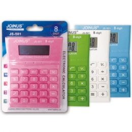 24 Units of Calculator Assorted Colors - Calculators