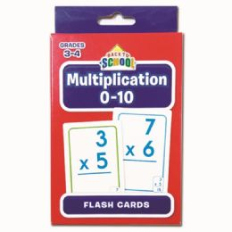 96 Units of Multiplication Flash Cards - Classroom Learning Aids