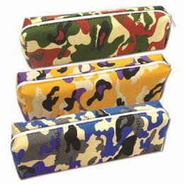 96 Units of Pencil Case Assorted Designs - Pencil Boxes & Pouches
