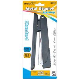 24 Units of Deluxe standard stapler - Staples and Staplers