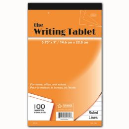96 Units of Hundred Count Writing Tablet - Note Books & Writing Pads