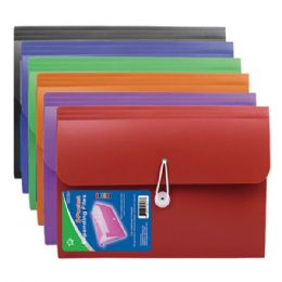 48 Units of Five Pocket Expanding File Letter Size Horizontal - Folders and Report Covers