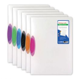 96 Units of Swing lock report cover clear letter size - Folders and Report Covers