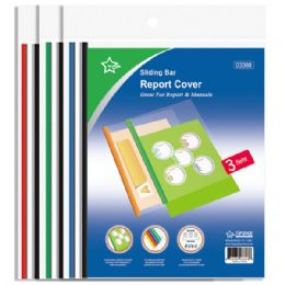 96 Units of Report Cover With Sliding Bar - Folders and Report Covers