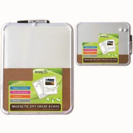 48 Units of Dry Erase Cork Combo Board With Marker - Dry erase