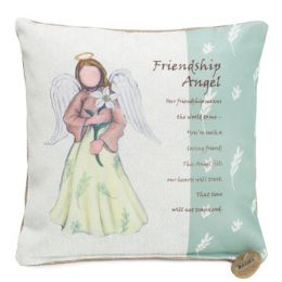 46 Units of 10x10 Friendship Angel Pillow - Pillows