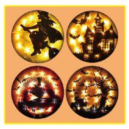 "24 Units of Glitter glow ghost 15""/20L UL - Halloween & Thanksgiving"