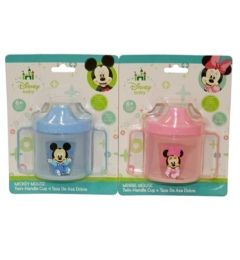 72 Units of Mickey Mouse Baby Cup - Baby Utensils