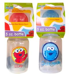 72 Units of Sesame Street 5 Oz Baby Bottle - Baby Accessories