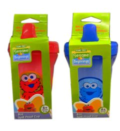 144 Units of Sesame Street Spill Proof Cup - Baby Bottles