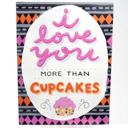 32 Units of Wall Decor More Than Cupcakes 7.5 X 10 Mdf - Signs & Flags