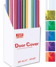 """96 Units of Door cover 36x80"""" - Christmas Novelties"""