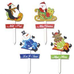 """48 Units of X'mas yard sign 26"""" - Christmas Novelties"""