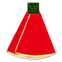 "96 Units of X'mas tree skirt 36"" - Christmas Novelties"