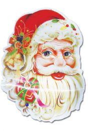 """48 Units of 28"""" 3D Plastic deco/santa - Christmas Decorations"""