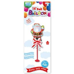 96 Units of X'mas Foil Balloon - Christmas Decorations