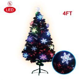 2 Units of 4 Foot pre-lit tree/star - Christmas Ornament