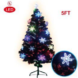 2 Units of 5 Foot pre-lit tree/star - Christmas Ornament