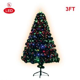 "2 Units of X""mas fiber optical tree/3 Foot-led - Christmas Ornament"