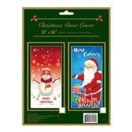 "72 Units of X'mas door cover 30x60"" - Christmas Decorations"