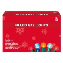 36 Units of 50L LED light multi UL - Christmas Decorations