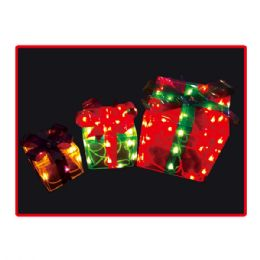 "6 Units of 50L gift box set 4.5""x5.5""x8"" UL - Christmas Gift Bags and Boxes"