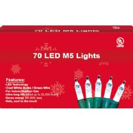 96 Units of 70L LED light clear UL - Christmas Decorations