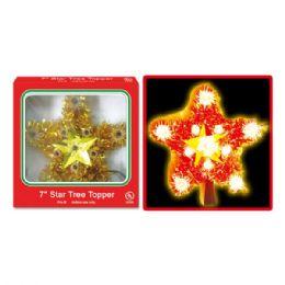 "24 Units of 8""-11L candle tree topper UL - Christmas Novelties"