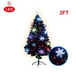 12 Units of 2 Foot pre-lit tree/star - Christmas Ornament