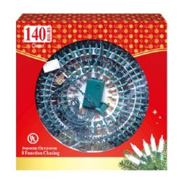12 Units of 140L chasing clear tray ATL - Christmas Novelties