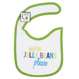 "144 Units of ""More Jelly Beans Please"" baby Bib - Baby Accessories"