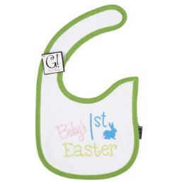 144 Units of Baby's First Easter Bib - Baby Accessories