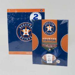 216 Units of Portfolio 2pk Houston Astros - Folders and Report Covers
