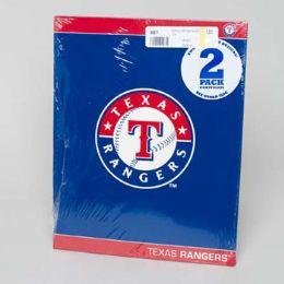 216 Units of Portfolio 2pk Texas Rangers - Folders and Report Covers