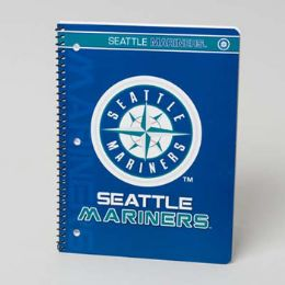 108 Units of 1 Subject Seattle Mariners Classic Notebook - Notebooks