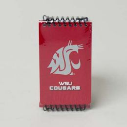 112 Units of 3 Pack Wsu Cougars Memo Books - Notebooks