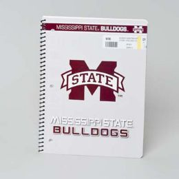 112 Units of 1 Subject Mississippi State Bulldogs Classic Notebook - Notebooks