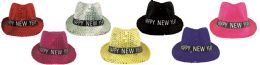 48 Units of New Year Hat With Light - New Years