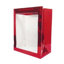 "144 Units of Hologram window bag/Medium 8x10.6x6"" - Valentines"