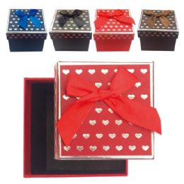"96 Units of Printed box 3.5x3.5x2"" - Valentines"