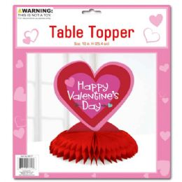 96 Units of V-Day Table Topper - Valentines