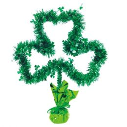 "96 Units of 16"" Tinsel table decoration - St. Patricks"